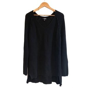 a.n.a. Black Knit Oversized Sweater